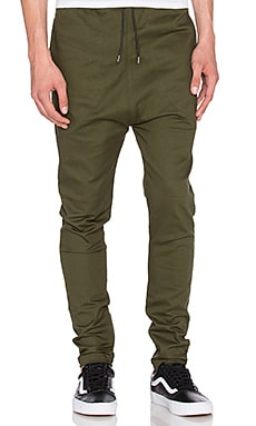 I Love Ugly Zespy Pant in Forest Green