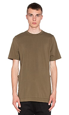 I Love Ugly Tech T-Shirt in Olive