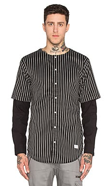 I Love Ugly Crew Shirt in Wool Black