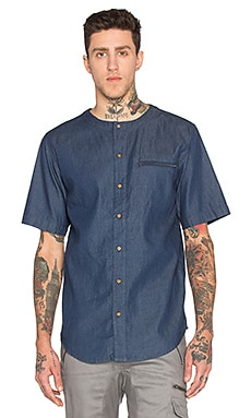 I Love Ugly SS Crew Shirt in Denim