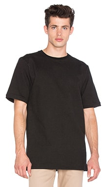 I Love Ugly Overlayer Tee in Black Wash