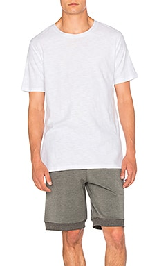 I Love Ugly Linen T Shirt in White