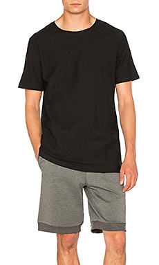 I Love Ugly Linen T Shirt in Vintage Black