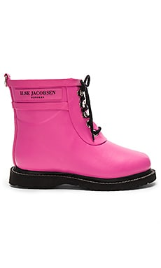 ILSE JACOBSEN Always A Classic Short Boot in Pink