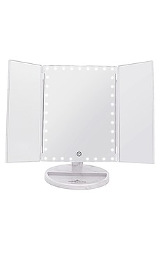 Touch Trifold XL Dimmable LED Makeup Mirror Impressions Vanity $89