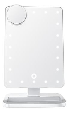 Touch XL Dimmable LED Makeup Mirror With Bluetooth Impressions Vanity $69