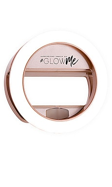GlowMe 2.0 USB Rechargeable LED Selfie Ring Light Impressions Vanity $45