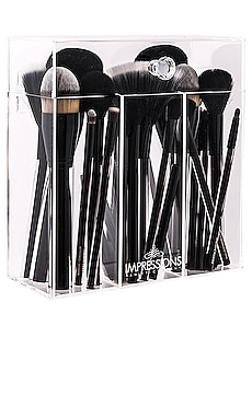 Diamond Collection Brush Holder Impressions Vanity $49 BEST SELLER