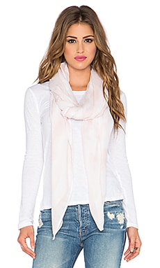 Indah Hailey Printed Scarf Sarong in Blush Snake