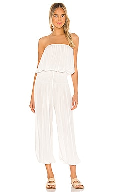 Seychelle Strapless Pleated Jumpsuit Indah $172