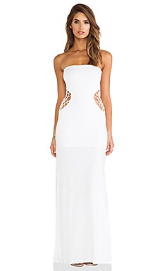 Indah X REVOLVE Grasshopper Maxi Dress in White