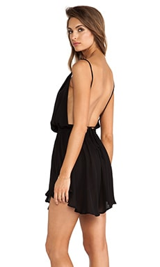 Indah Tahani Cocktail Dress in Black