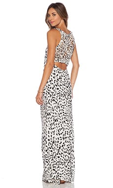 Indah Roam Basket Weave Tail Maxi in Leopard