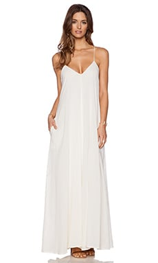 Indah Penda Maxi Dress in Ivory