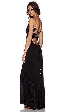 Indah Zera Maxi Dress in Black
