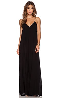 Penda Pocket Maxi Dress in Black