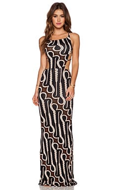 Indah Tamaa Seamless Maxi Dress in Zulu
