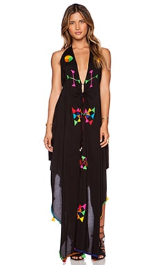 Indah Imani Maxi Dress in Black