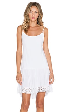 Indah Karima Mini Dress in White