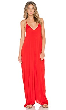 Indah Nala Flow Maxi Dress in Red