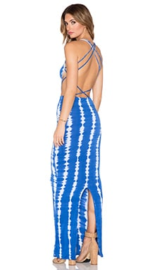 TAMAA CUT OUT MAXI DRESS