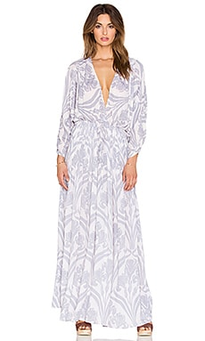 Indah Cedar Printed Boheme Maxi Dress in Venice Rain