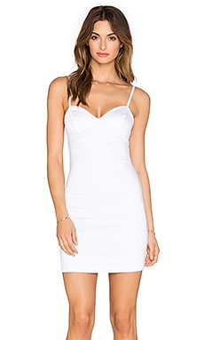 Indah Eve Bodycon Mini Dress in White
