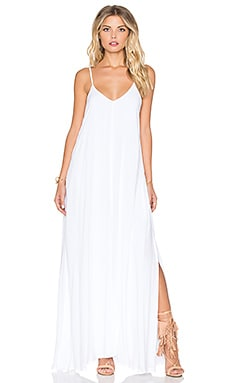 Rain Maxi Dress in White