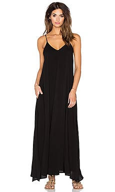 Indah Rain Maxi Dress in Black