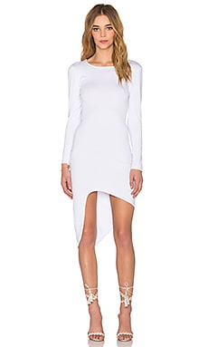 Salju Mini Dress in White