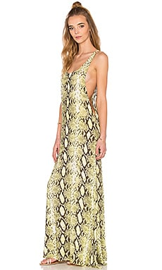 Pilar Panel Maxi in Citrus Python