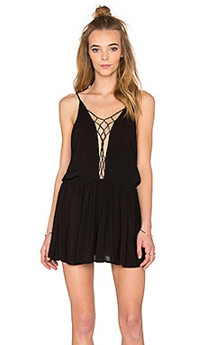 Sachi Mini Dress in Black