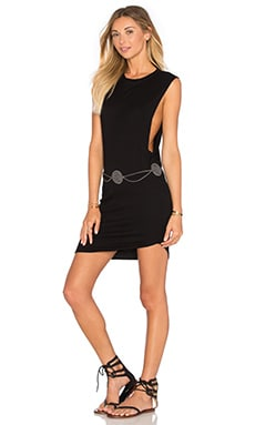 Tallow Tank Dress in Black