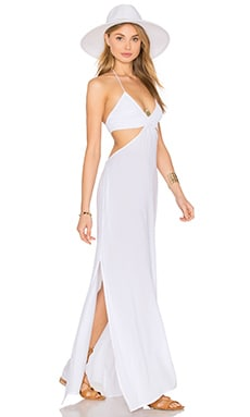Blaze Cutout Maxi Dress in White