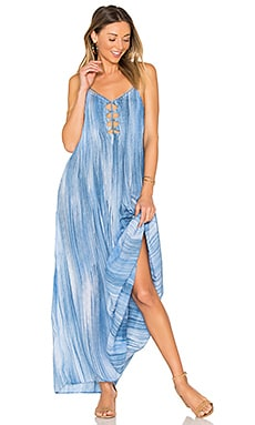Imagine Maxi Dress in Indigo Casablanca