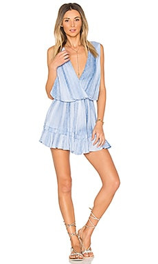 Balmy Mini Dress in Indigo Casablanca