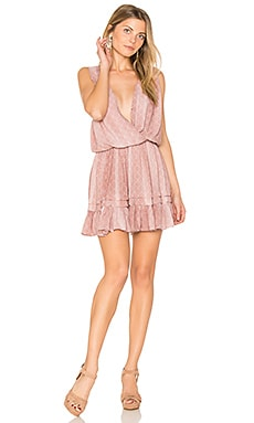 Balmy Mini Dress in Bronze Casablanca