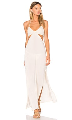 Blaze Cutaway Maxi Dress in Desert