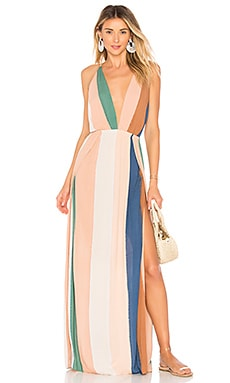 River Maxi Dress Indah $180 BEST SELLER