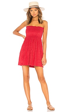 Mercy Strapless Mini Dress Indah $92