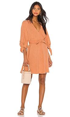 Kara Knot Sleeve Tunic Dress Indah $54