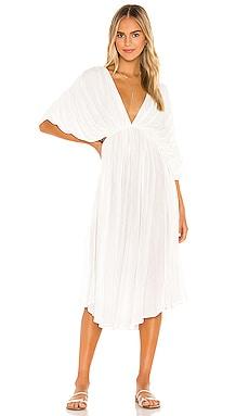 Платье миди amerta - Indah Белый фото