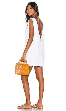 Pella Plunge Mini Dress Indah $108