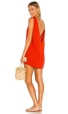 Pella Plunge Mini Dress Indah $108