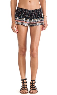 Mika Smock Band Flounce Shorts