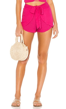 X REVOLVE Palm Wrap Short Indah $31 (FINAL SALE)
