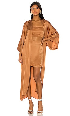 Luna Robe with Sash Indah $198
