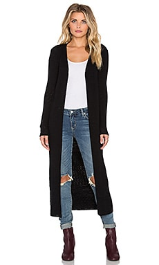 Honey Sash Duster in Black