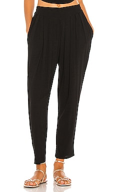 Tanah Solid 80s Pleated Trouser Indah $163