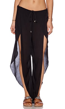 Indah Val Pant in Black